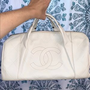 LOOKING TO TRADE- Authentic Chanel Boston bag